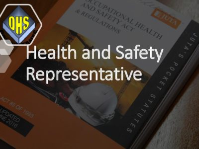 Occupational Health and Safety Representative Training